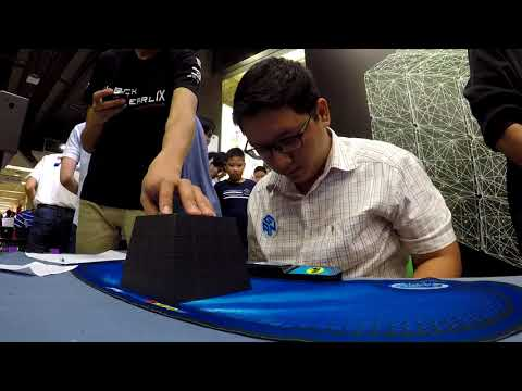 7.99 Official Rubik's Cube Average [Bangkok Cube Day Summer 2018]