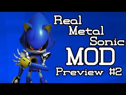 Sonic Generations - Real Metal Sonic(Forces) Mod - Preview #2