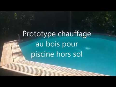 chauffage de la piscine au bois doovi. Black Bedroom Furniture Sets. Home Design Ideas