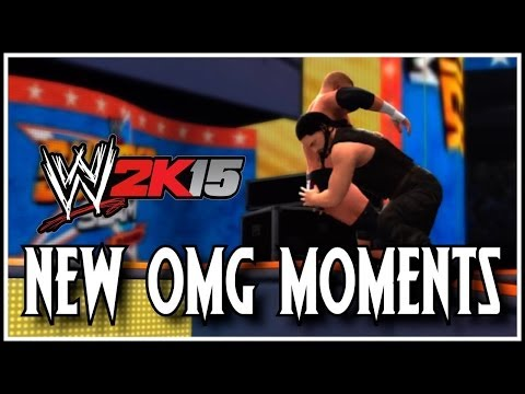 WWE 2K15 - New OMG Moments! (2K14)