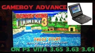 3.67 Easy Gameboy advance on PS Vita homebrew  3.61 3.63 3.65