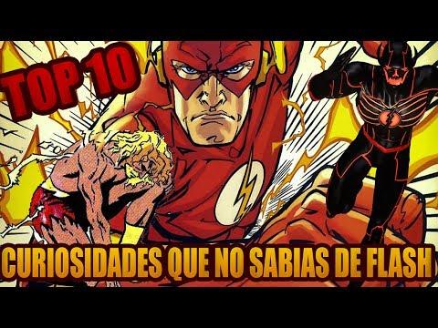 Top 10 Datos que (Seguramente) no Sabias de The Flash (Comics)