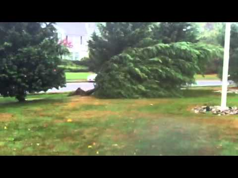 Hurricane Sandy near Manasquan/Wall, New Jersey