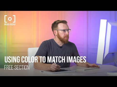 Commercial Color Grading | Using Color To Match A Family of Images Free  Tutorial Excerpt PRO EDU