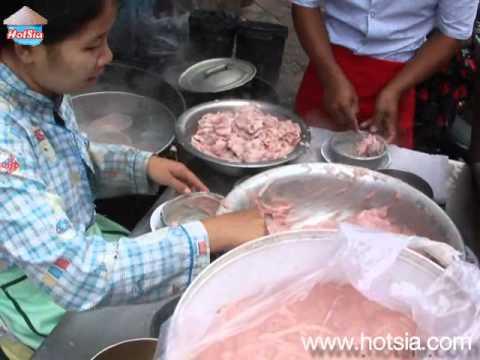 khmer morning food อาหารเช้าแปลกๆที่เขมร