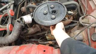 Renault 4 Gtl first start after 12 years