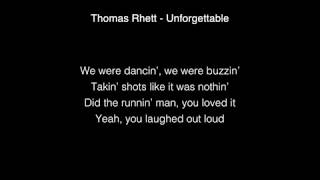 Thomas Rhett Unforgettable