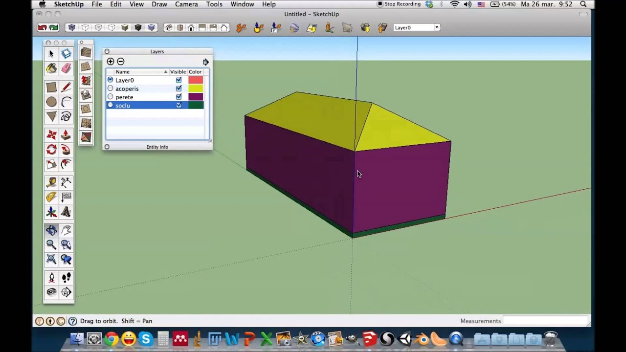 how to delete layers in sketchup