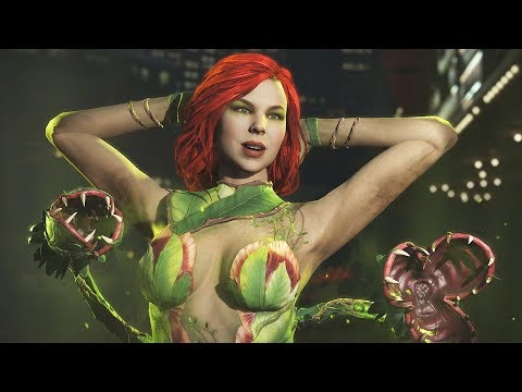 Injustice 2: Poison Ivy Vs All Characters | All Intro/Interaction Dialogues & Clash Quotes