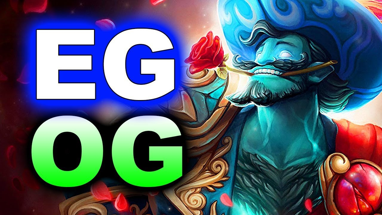 eg vs og hype game ti8 the international 2018 dota 2 youtube