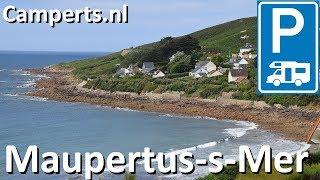 Camping L'Anse du Brick, Maupertus-sur-Mer, Basse Normandie, Frankrijk (English subtitled)