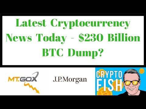 Latest Cryptocurrency News Today - $230 Billion BTC Dump?