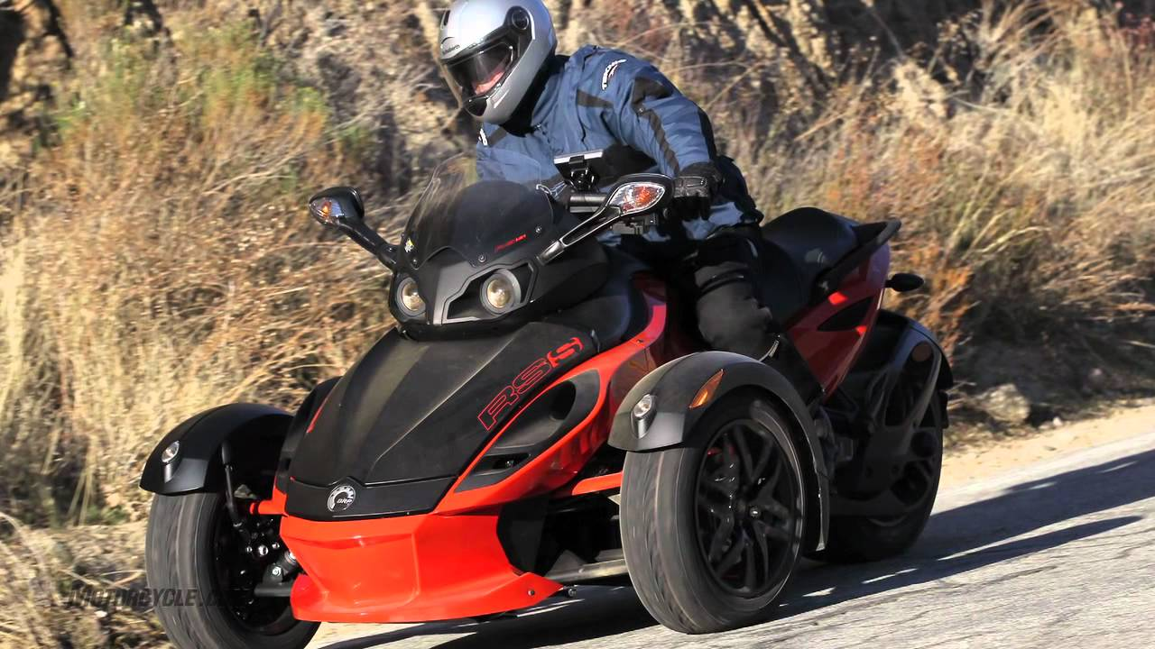 2012 can am spyder roadsters review riding high on three wheels youtube