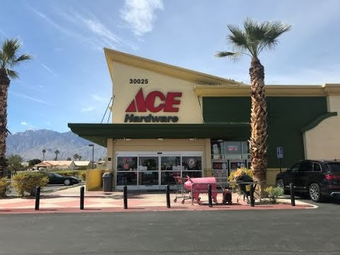 ACE HARDWARE WALK AROUND A MAN'S STORE!!!