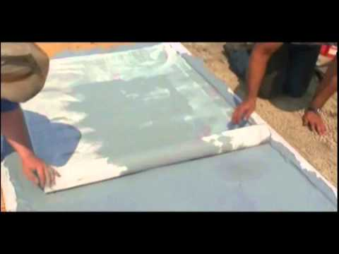 How To Waterproof A Plywood Roof Deck.   YouTube