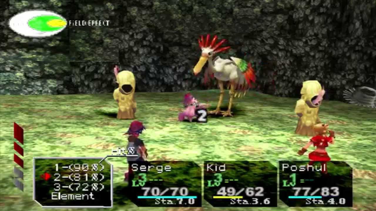 Chrono Cross - ePSXe 1080p 60fps FXAA