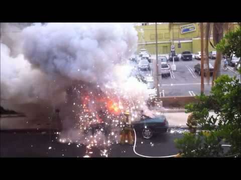 Balls Of Steel Fire Fighter Explosion In His Face