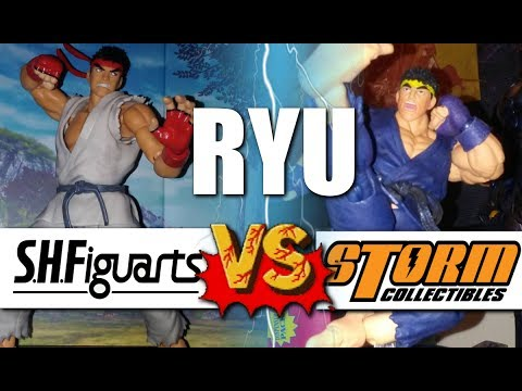 STREET FIGHTER RYU - SH Figuarts vs. Storm Collectibles