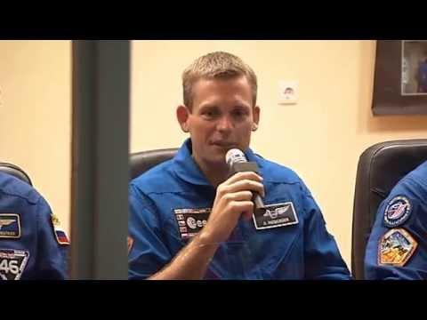 Rørt dansk astronaut: Tak for støtten, Danmark! – DR Nyheder - YouTube