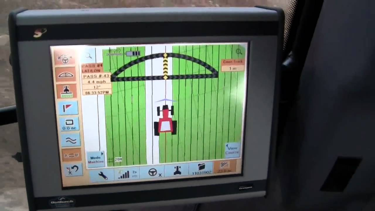 Planting With Autosteer On The Tractor Youtube