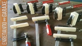 Solución sargentos de carpintería baratos. Fix cheap woodworking clamps