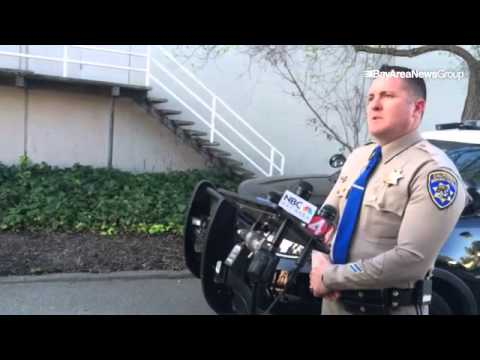 CHP Officer John Fransen discusses detainment of 4 people after chase that  originated in Sacramento
