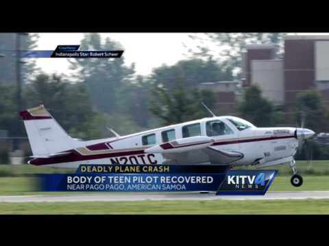 Teen pilot dies flying from American Samoa to Hawaii