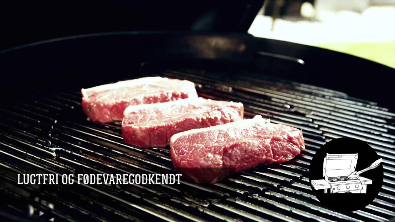 Rørig Undgå at kødet hænger i rist med Weber non stick spray - YouTube SS-74