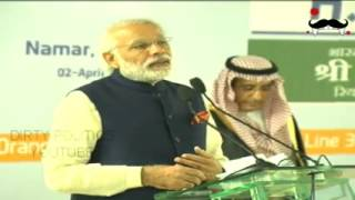 pm modi full speech at riyadh mind blowing   narendra modi addressing saudi workers 2nd april