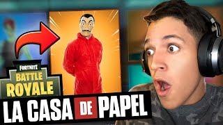LA CASA DE PAPEL NO FORTNITE |  Afreim