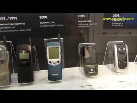 Samsung kroz povijest mobilne telefonije - izložba (27.02.-27.03.2015)