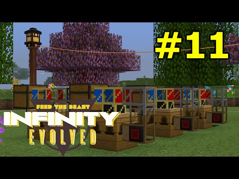 ftog S3E11 - Bees and Trees - FTB Infinity Evolved (Expert Mode)