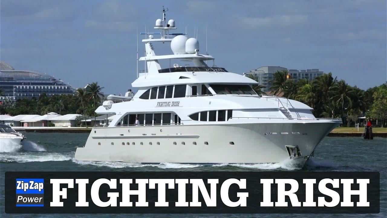 FIGHTING IRISH Yacht VAPER ON DECK YouTube