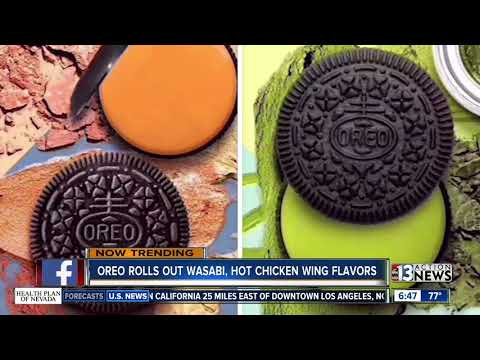 Christie on Pride Radio - Oreo Introduces Wasabi and Hot Wing Flavors