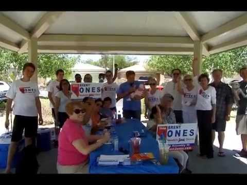 Get out to vote BBQ for Brent Jones Nevada Assembly 35