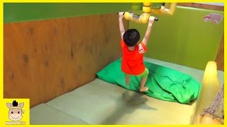Indoor Playground for Kids and Family Fun Play Slide Kids Cafe | MariAndKids Toys