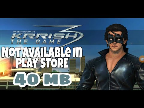 KRRISH 3 game download, with gameplay.