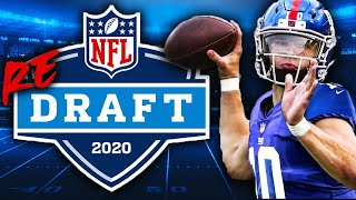 Redrafting the 2020 NFL Draft