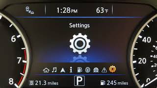 2018 Nissan Murano - Vehicle Information Display
