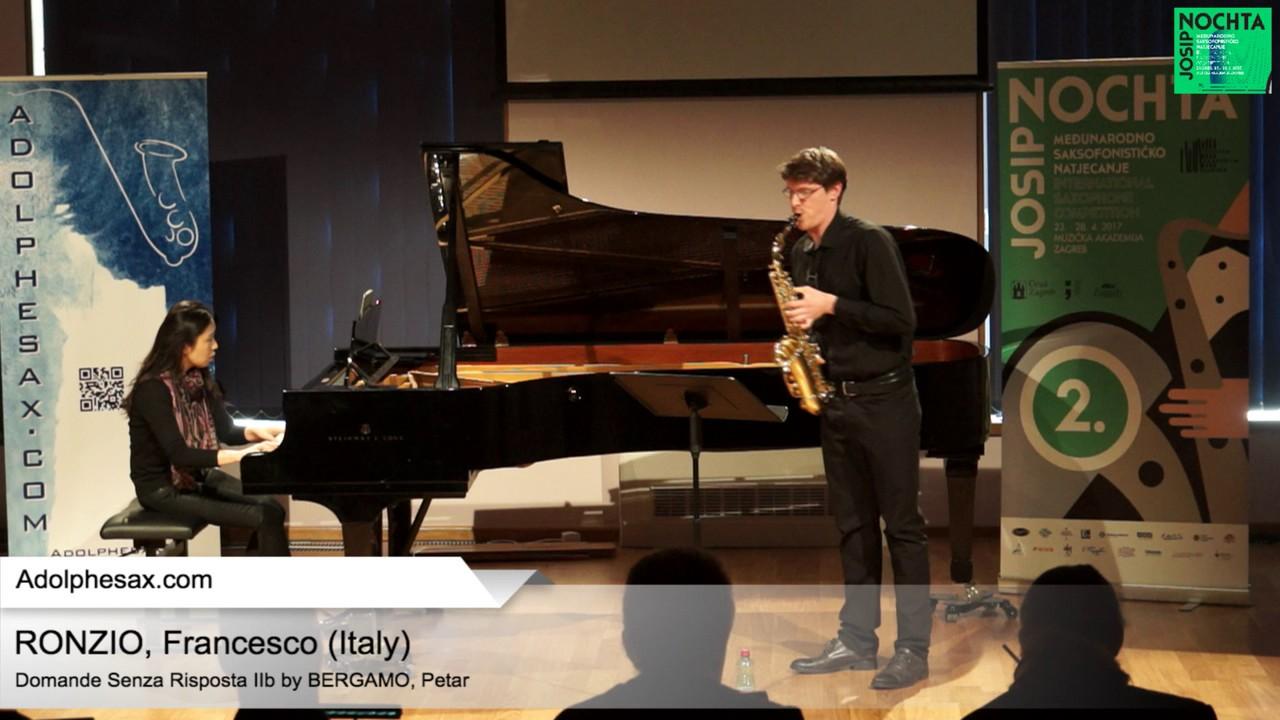 Domande senza risposta IIb by Petar Bergamo –  RONZIO, Francesco Italy