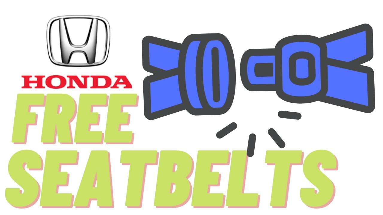 small resolution of don t replace that honda seat belt or buckle free honda seat belts how to reset honda srs light