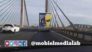 Politie Putten op Ossenmarkt met Mobiel Media Lab en tuctuc
