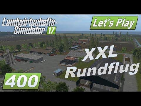 LS17 #400 XXL Map Vorstellung Nordfriesische Marsch Rundflug über den Hof, die Karte und Produktion