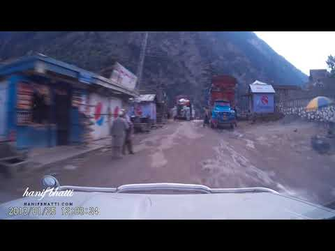 Kalam to Bahrain road condition - Swat