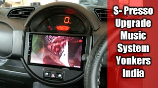 S-Presso Android Stereo Installation | Fully Upgrade S- Presso Music System | Yonkers Android Stereo