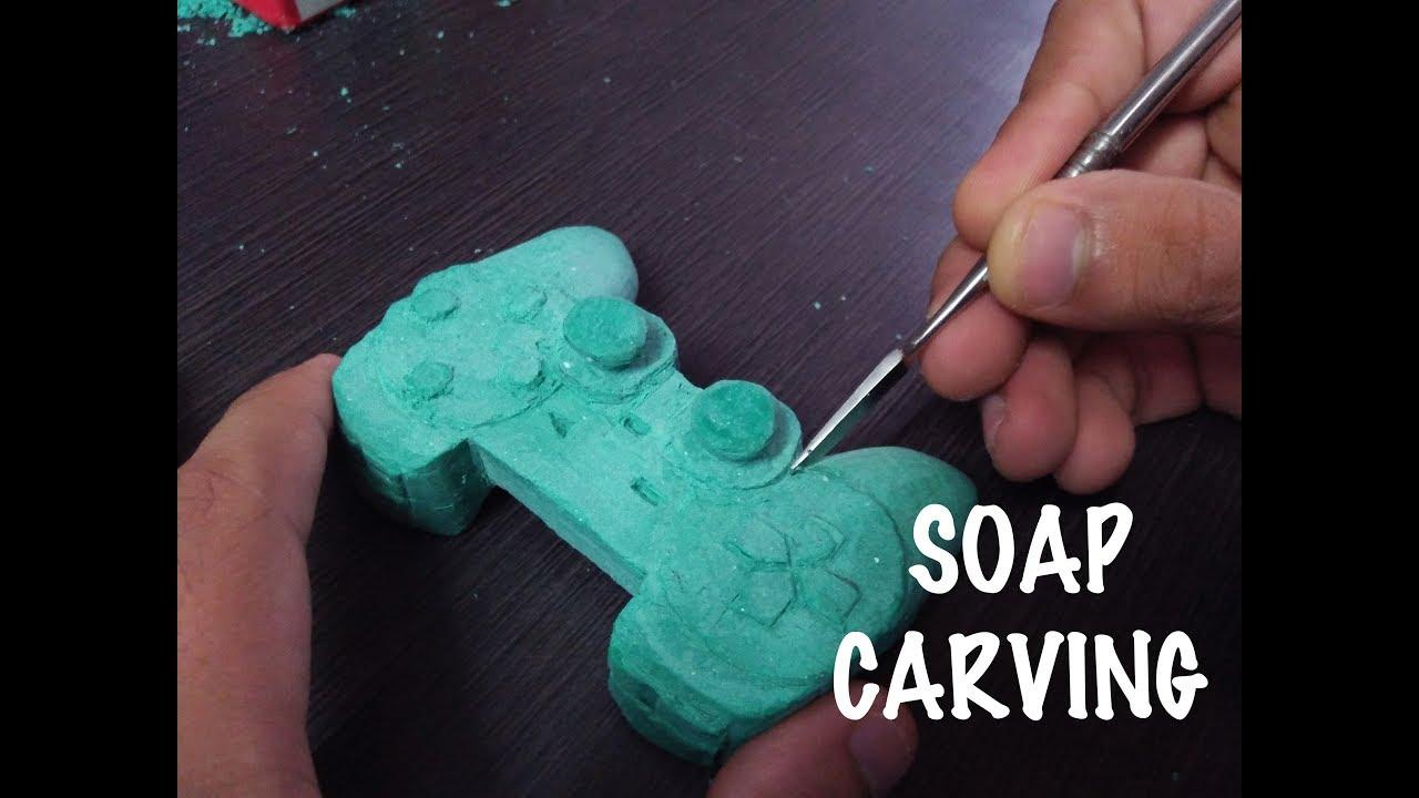 Soap carvings gamepad soap carvings handmade soap beginners