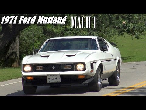 1971 Ford Mustang Mach 1 Supercharged custom musclecar 4K ...