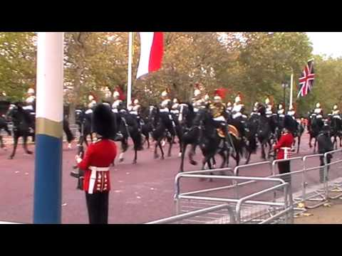 London Ceremonial for Republic of Singapore State Visit - October 2014