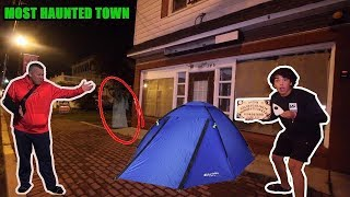 i-spent-24-hours-in-a-ghost-town-with-my-dad-so-scary