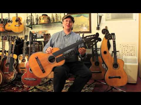What is a Harp Guitar? At Retrofret Vintage Guitars